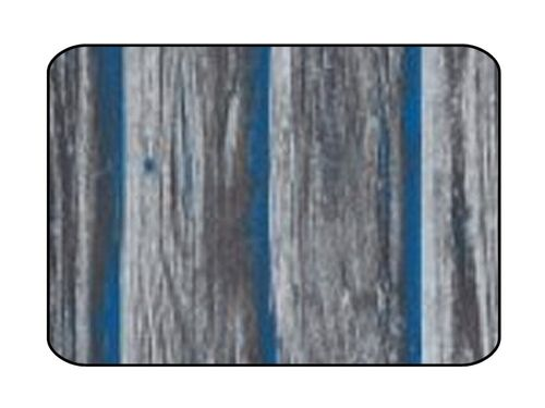 Materialmuster Designteppich Woody blue